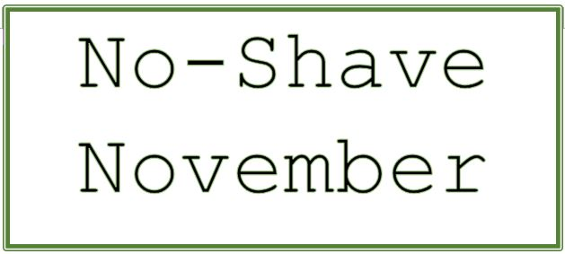 No Shave November