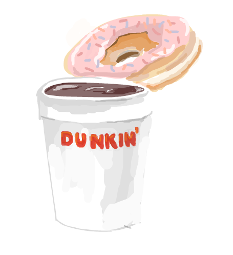 Dunkin' Minus the Donuts