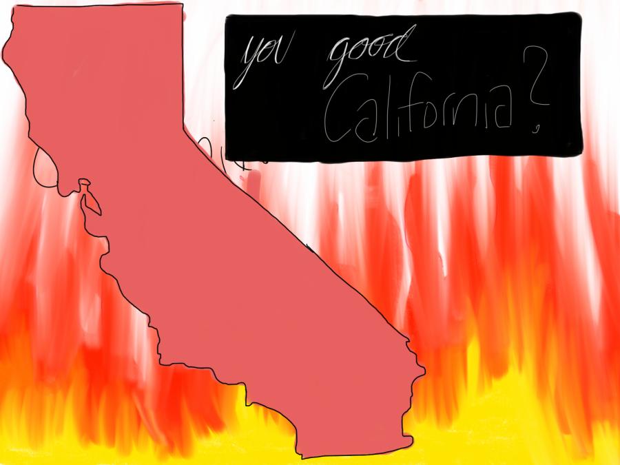 The California Fires: Golden Blaze Across the Golden State